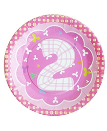 Party Anthem Second Birthday Pink Kit - 80 Pieces