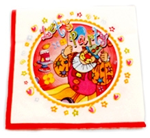 Party Anthem Lets Party Paper Napkins - Pack Of 20