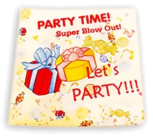 Party Anthem Party Time Paper Napkin - Pack Of 20