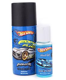 Hot Wheels Gift Set Hand Gel And Deodorant - 50 Ml + 150 Ml