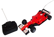 Majorette Remote Control F1 Full Function Car - Red