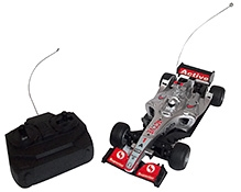Majorette Remote Control F1 Full Function Car - Silver