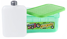 Decor Pumped Duo 2 Lunch Box With 550 Ml Drink Flask - 21.5 X 14 X 10.5 Cm - 3 Years+