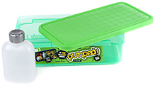 Decor Pumped Duo 3 Lunch Box With 200 Ml Drink Flask - 24.5 X 12.5 X 7 Cm - 3 Years+