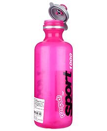 Decor 1 Litre Pop Top Sport Bottle - Pink