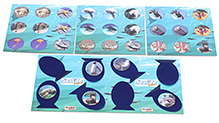 Zapak Games Sea Life Junior Multiple Version Memory Board Game - 3 Years Plus