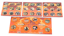 Zapak Games Wildlife Junior Multiple Version Memory Game - 3 Years Plus
