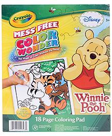 Crayola Color Wonder Winnie The Pooh Coloring Pad - 3 Years Plus