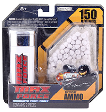 Fab N Funky Max Force Soft Splat Ammo 150 Rounds - 8 Years Plus