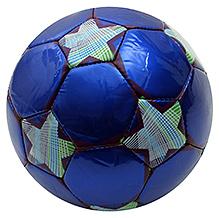 Fab N Funky Designer Football Star Print - Blue