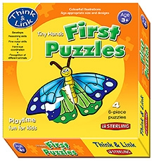 Sterling Tiny Hands First Puzzles Insects