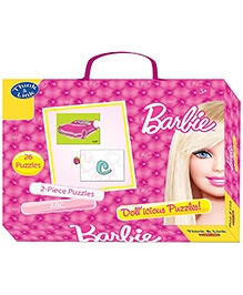 Sterling Barbie ABC Puzzles - 2 Piece Puzzles - Develops Skills Like Reasoning