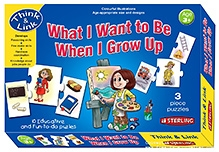 Sterling What I Want To Be When I Grow Up - 10 Educative And Fun To Do Puzzles