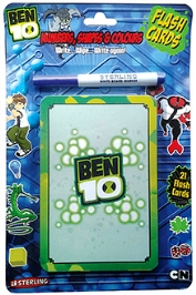 Sterling Ben 10 My Body 21 Flashcards And White Board Marker Helps your child to write and learn with this set of 21 activity based...