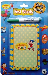 Sterling Noddy My Body 21 Flashcards And White Board Marker