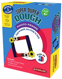 Sterling Super Duper Dough Photo Frame - Easy To Mould And Non Sticky To Hold - 5 Years And Above