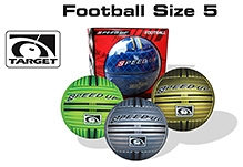 Speed Up Target Football Size 5 - 1 Piece