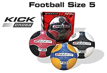 Speed Up Kick Cross Football 1 Piece - Size 5