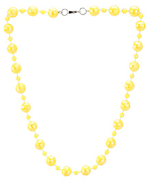 Stol'n Faceted Shape Bead Necklace - Yellow