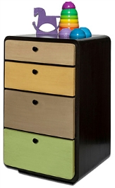 Lakdi Ki Kathi Wooden Four The Win Chest Of Drawers - 18 X 16 X 30 Inch