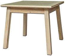 Lakdi Ki Kathi Wooden Single Decker Play Table - 24 X 24 X 21 cm