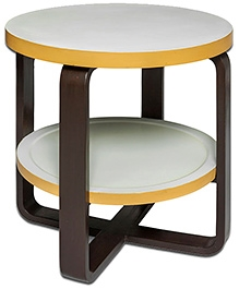 Lakdi Ki Kathi Wooden Round We Go Play Table - 21 X 21 X 21 cm