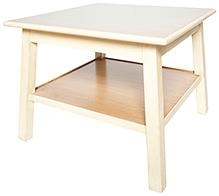 Lakdi Ki Kathi Wooden Double Decker Play Table - 36 X 19 X 21 cm
