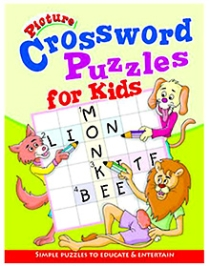 Shree Book Centre Picture Crossword Puzzles For Kids - Green