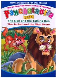 Shree Book Centre Panchatantra 2 In 1 The Lion And The Talking Den The Jackal And The War Drum - English