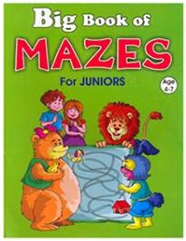 Shree Book Centre Big Book Of Mazes For Juniors - English