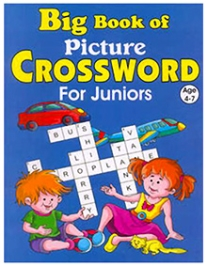 Shree Book Centre Big Book Of Picture Crossword For Juniors - English