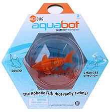 Hexbug Aquabot Smart Fish With Bowl Orange - 3 Years Plus