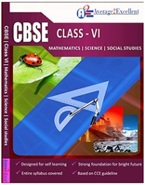 Average2Excellent CBSE Class VI Mathematics Science Social Studies VCD - English