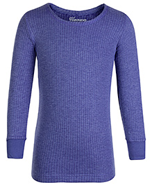 Torrido Full Sleeves Thermal Vest - Blue