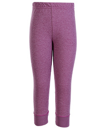 Torrido Self Stripe Design Thermal Legging - Pink