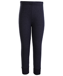 Torrido Self Stripe Design Thermal Legging - Black