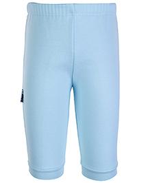 Child World Fleecy Fabric Turquoise Legging