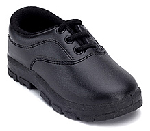Action Black School Time Uniform Shoes