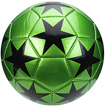 Fab N Funky Football Star Print - Green