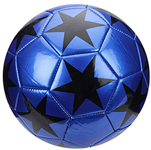 Fab N Funky Football Star Print - Blue