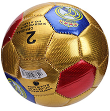 Fab N Funky Football Size 2 Golden - CF Print