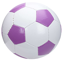 Fab N Funky Football Hexagonal Pattern - Magenta
