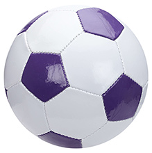 Fab N Funky Football Hexagonal Pattern - Purple