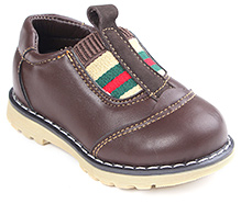 Cute Walk Party Leather Shoes - Coffee
