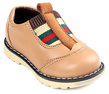 Cute Walk Party Leather Shoes - Brown