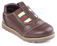 Cute Walk Party Slip On Shoes - Coffee