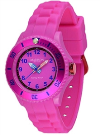 Madison Kids Analogue Wrist Watch - Pink