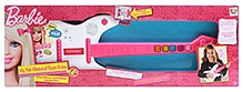 Barbie My Fab Electrical Rock Guitar - 56 X 19 Cm