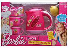 Barbie Mini Chef Rise And Shine Kettle Play Set - 6 Pieces
