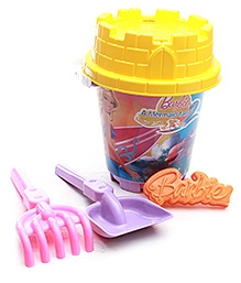 Barbie Round Castle Bucket Set